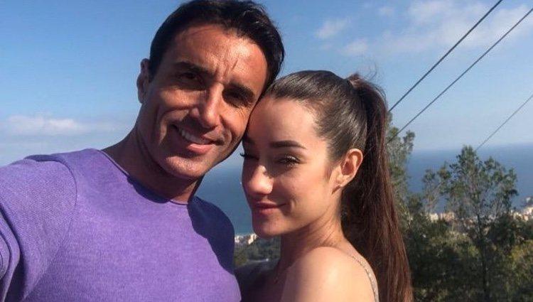 Adara Molinero y Hugo Martín ('GH'), muy enamorados