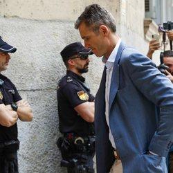 Iñaki Urdangarin, muy triste tras conocer la sentencia del Supremo