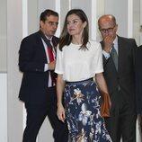 La Reina Letizia en un acto tras conocerse la sentencia del Supremo sobre Iñaki Urdangarin