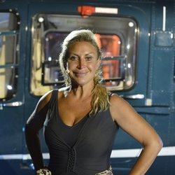 Raquel Mosquera en la primera gala final de 'Supervivientes 2018'