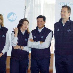 La Infanta Cristina e Iñaki Urdangarin con Alexia de Grecia y Carlos Morales