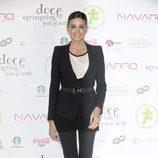 Noelia López en la presentación del calendario '12 cenicientas para 2012'