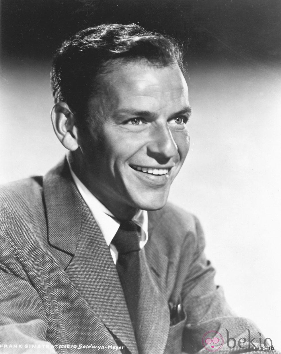 Frank Sinatra, una joven estrella de la música