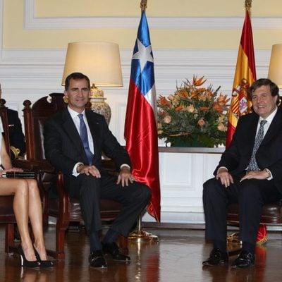 Los Príncipes Felipe y Letizia en el Congreso de Chile