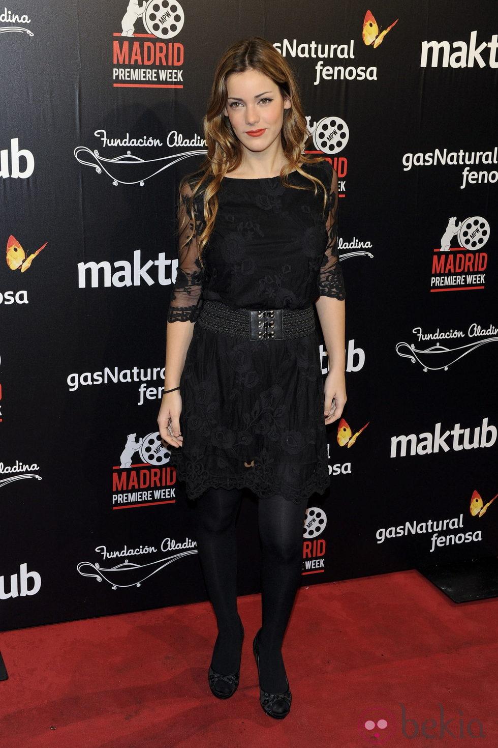 Anterior Alejandra Onieva en el estreno de la película 'Maktub'