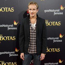 Jesse Johnson en el estreno de 'El gato con botas' en Madrid