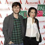 Raúl Arévalo y su acompañante en el 24 aniversario del Club Palestra
