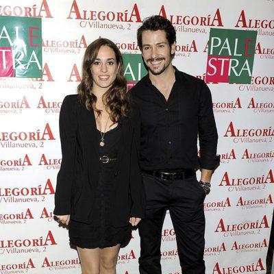 Silvia Alonso y Alejandro Albarracín en el 24 aniversario del Club Palestra