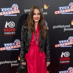 Silvia Alonso en el estreno de 'Fuga de cerebros 2' en la 'Madrid Premiere Week'