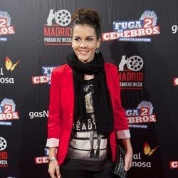 Sandra Blázquez en el estreno de 'Fuga de cerebros 2' en la 'Madrid Premiere Week'