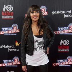 Cristina Pedroche en el estreno de 'Fuga de cerebros 2' en la 'Madrid Premiere Week'