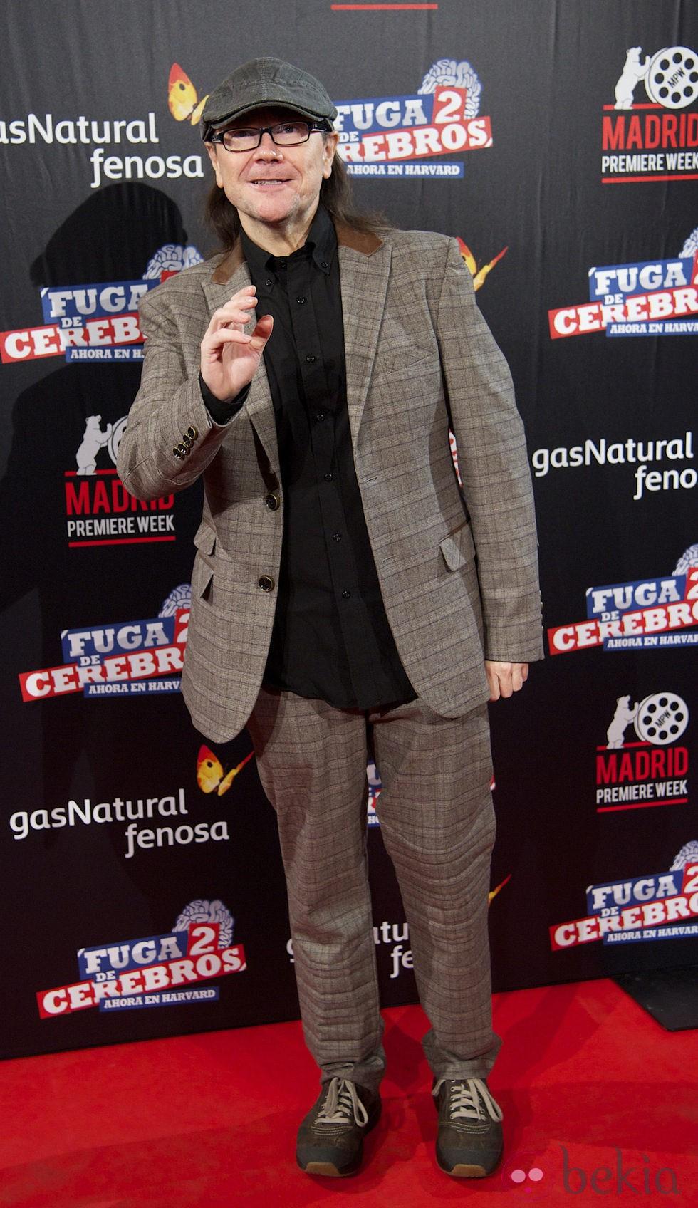 Santiago Segura en el estreno de 'Fuga de cerebros 2' en la 'Madrid Premiere Week'