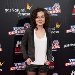 Nadia de Santiago en el estreno de 'Fuga de cerebros 2' en la 'Madrid Premiere Week'