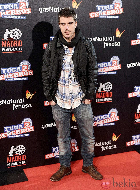 Javier Hernández en el estreno de 'Fuga de cerebros 2' en la 'Madrid Premiere Week'