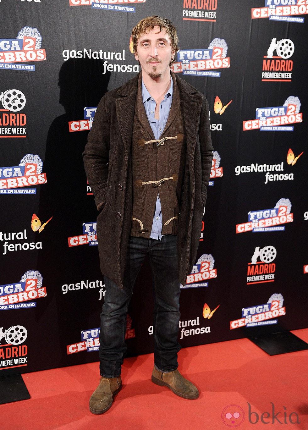 Iván Massague en el estreno de 'Fuga de cerebros 2' en la 'Madrid Premiere Week'