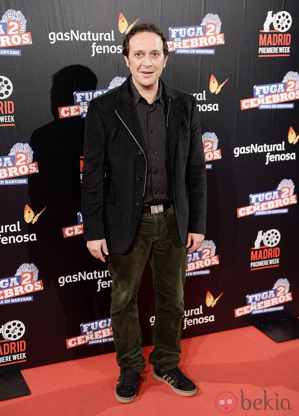 Luis Callejo en el estreno de 'Fuga de cerebros 2' en la 'Madrid Premiere Week'