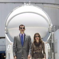 Los Príncipes de Asturias en el Observatorio Europeo Austral de Chile