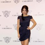 Giselle Calderón en la fiesta organizada por Caramelo en Madrid