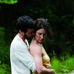 Evageline Lully y Roman Duris en la película 'Premonición'