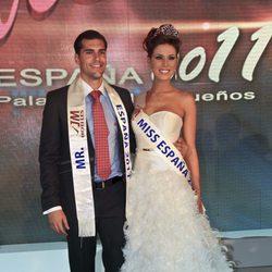 Andrea Huisgen y Diego Otero, Miss y Míster España 2011