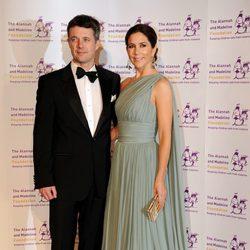 Los Príncipes Federico y Mary de Dinamarca en una gala en Australia