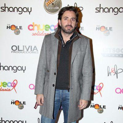 Antonio Garrido en la gala Help