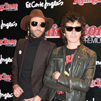 El grupo Pereza en los Premios Rolling Stone 2011