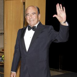 Emilio Botín en la entrega de los Premios Mariano de Cavia 2011