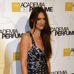 María Botto en los premios de la Academia del perfume