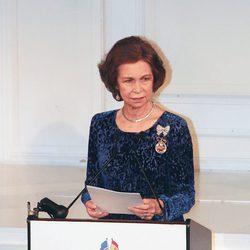 La Reina Sofía en la 2011 Gold Medal Gala en Nueva York