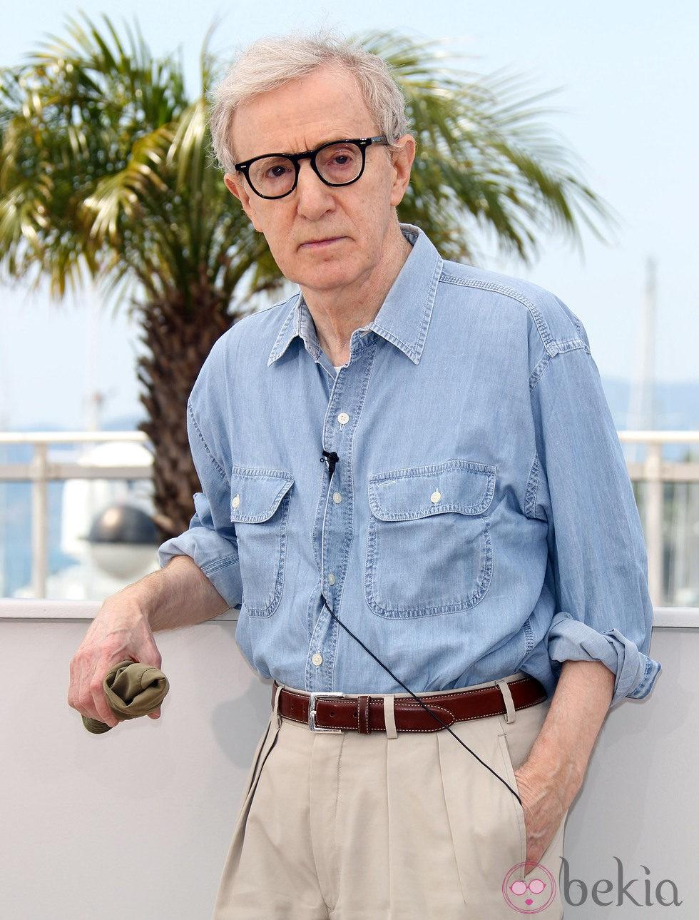 El director Woody Allen en el Festival de Cannes