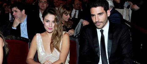 Blanca Suárez y Miguel Ángel Silvestre en la entrega de los Premios Ondas 2011