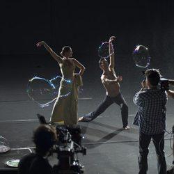 Grabación del anuncio de Freixenet 2011