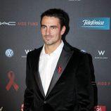 Tommy Robredo en la gala de la Fundación Lluita contra el sida