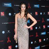 Helen Lindes en la gala de la Fundación Lluita contra el sida