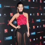 Malena Costa en la gala de la Fundación Lluita contra el sida