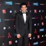 Dani Alves en la gala de la Fundación Lluita contra el sida