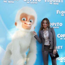 Elsa Pataky presenta en Barcelona la película 'Copito de nieve'