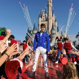Justin Bieber actúa en Disney World Florida