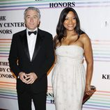 Robert De Niro y Grace Hightower en la Gala Kennedy 2011