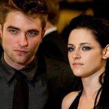 Robert Pattinson y Kristen Stewart en el estreno de 'Amanecer.Parte 1'