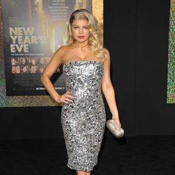 Fergie en el estreno de 'New Year's Eve' en Los Angeles