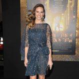 Hilary Swank en el estreno de 'New Year's Eve' en Los Angeles