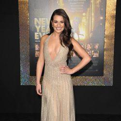 Lea Michele en el estreno de 'New Year's Eve' en Los Angeles