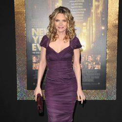 Michelle Pfeiffer en el estreno de 'New Year's Eve' en Los Angeles