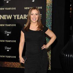 Alysa Milano en el estreno de 'New Year's Eve' en Los Angeles