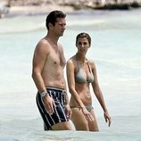 Iñaki Urdangarin en la playa con Rosario Nadal