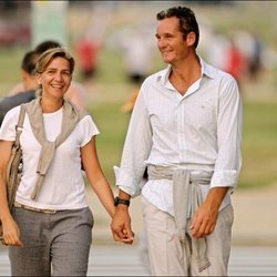 La Infanta Cristina e Iñaki Urdangarin enamorados y cogidos de la mano en Washington