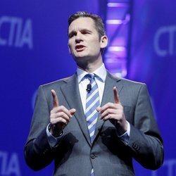 Iñaki Urdangarin dando una conferencia en Las Vegas