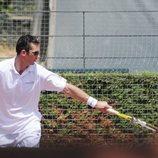 Iñaki Urdangarin jugando al tenis